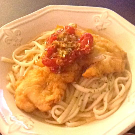 洋風うどん 2013-6-14 洋風うどん,Dinner,Noodles